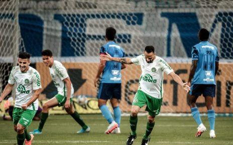 Anselmo Ramon fez gol único da partida - Pedro Vale- DIV/ACF