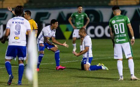 Régis marca para o Cruzeiro contra Guarani (SP)