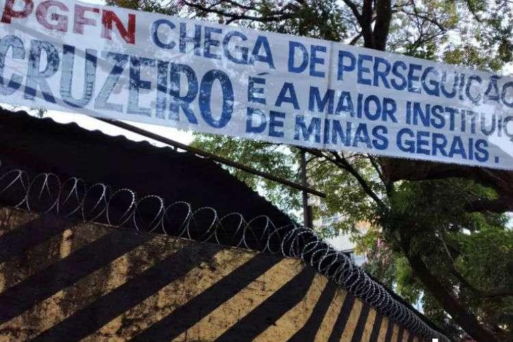 Protesto contra PGFN - Reprodução Portal UAI