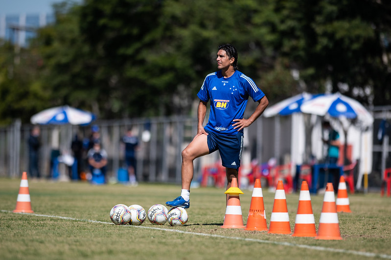 Marcelo Moreno - O Flecheiro Azul - Bruno Haddad - Cruzeiro/Divulgação