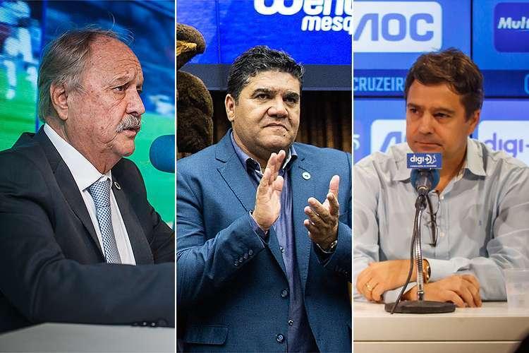 Wagner Pires, Sérgio Nonato, Itair Machado - Portal UAI