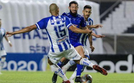 CSA 3 x 1 - Cruzeiro - Gustavo Aleixo - CEC/DIV