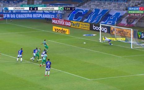 Defesa Fábio - Reprodução SporTV