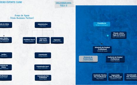 Organograma - Toca 2 - Reprodução/Internet