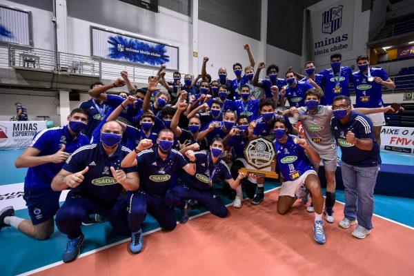 Sada Cruzeiro - Campeão Mineiro - Agência i7