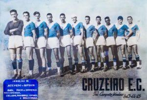 Foto do Tricampeonato 1945 - Acerto do Cruzeiro