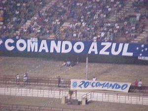Torcida Comando Azul - Foto: Evandro Oliveira